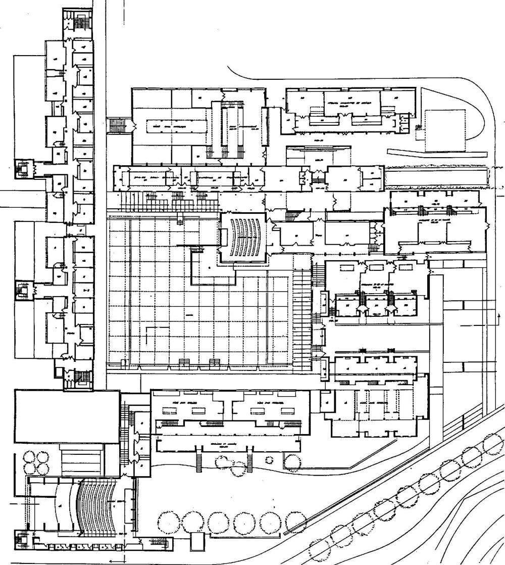 pv011 ecole d 39 architecture marseille 13 th architecture urbanisme philippe villien. Black Bedroom Furniture Sets. Home Design Ideas